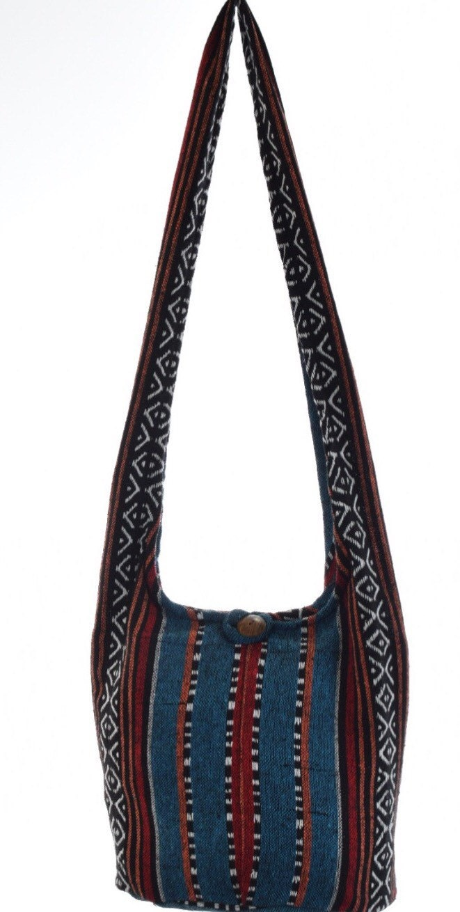 hobo bag hippie boho bag hippy bag crossbody by