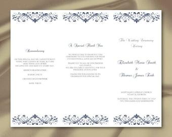 21 trifold wedding invitation templates free sample example