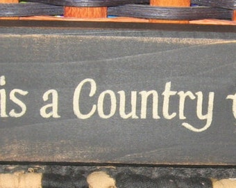 Primitive Country Dust is a Country Accent shelf sign