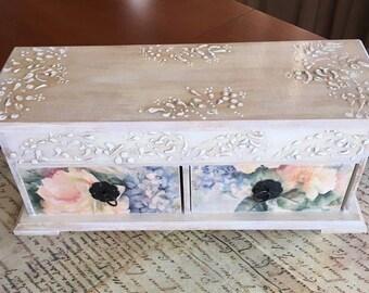 Wood chest | Etsy