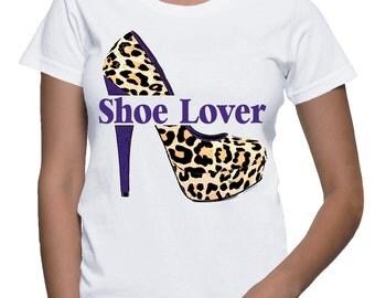 Shoe Lover T-shirt (15-309)