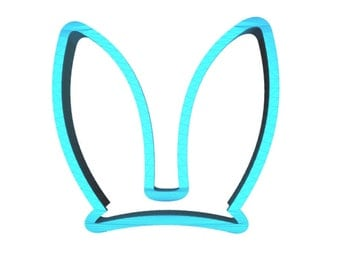 Bunny Ears Cookie Cutter Easter Cookie Cutter