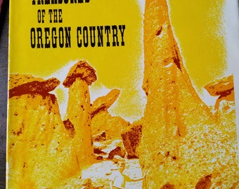 Signed 1st Ed. Treasures of the Oregon Country by Maynard C. Drawson