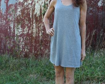 Traveler's Dress / Organic Cotton and Hemp