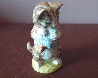 Beatrix Potter figurines Miss Moppet