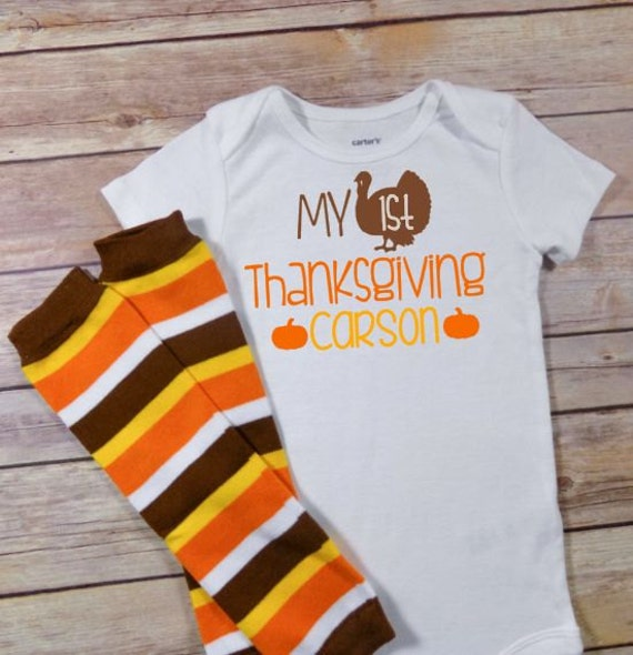 Baby Boys First Thanksgiving Outfit Baby By