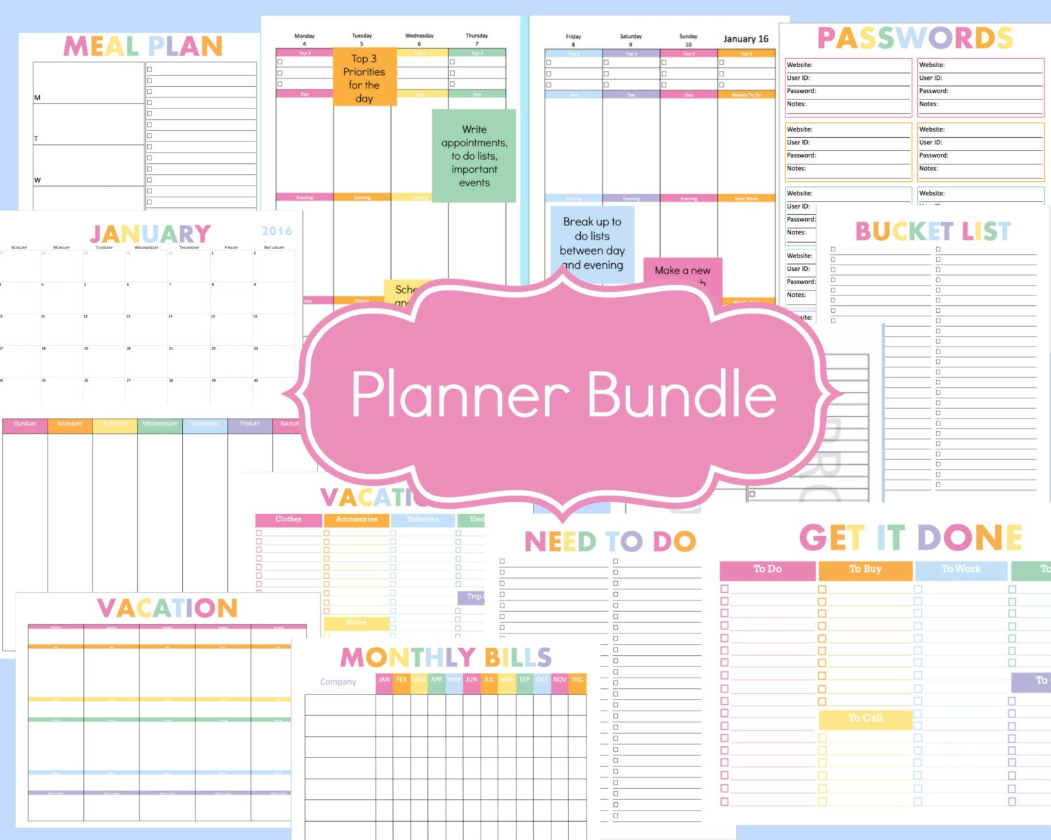 Create Your Own Printable 2016 Calendar Calendar