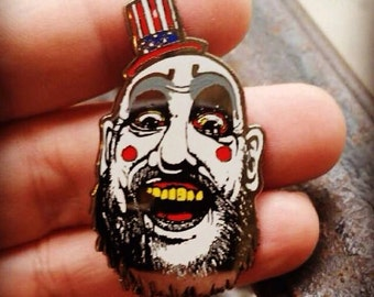 Captain Spaulding Hat Pins, Heady House of 1,000 Corpses Captain Spaulding Hat Pin!