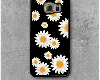 Samsung Galaxy S6 Case Flowers Daisy