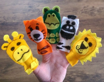 Full Fat Animal Finger Puppets