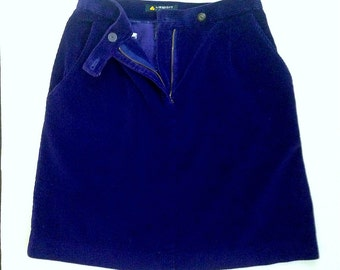 Corduroy Highwaist Skirt SZ 4P
