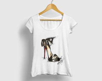 High heels shirt, High heel tee, High heel T-shirt, Heel fashion shirt, Heel womens shirt, Heels womens tee, Heels fashion tee, Fashion tee