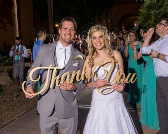 Thank You Wedding Sign Photo Prop, Gracias Rustic Sign for Thank You Cards, Wedding Banner for Photography, Photographer Signs, Wood Cutout