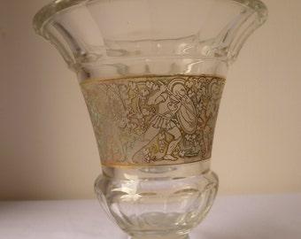 Antique Moser Glass coloured Karlsbad period – rare alexandrit