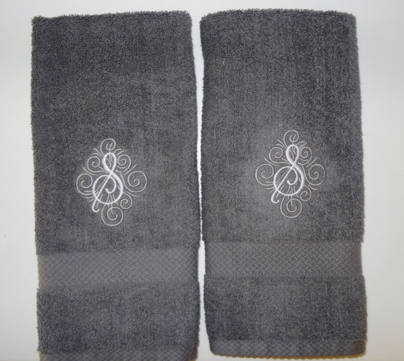 Personalized Hand Towel Monogrammed Hand Towel By