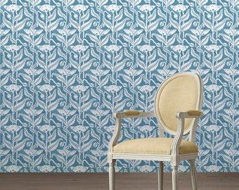 Vintage Poppy Peel 'n Stick Wallpaper Custom Lengths!
