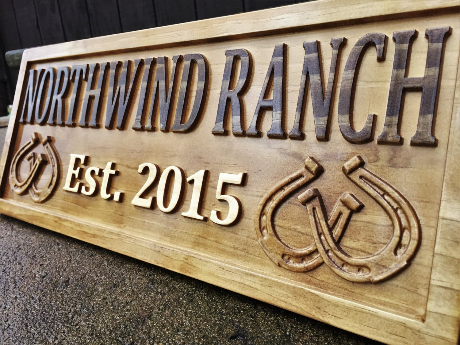 Rustic Wood Sign Personalized Couples Gift Custom Wooden Sign