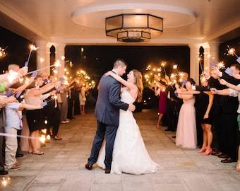 Wedding Sparkler Tags | Let Love Sparkle| Sparkler Tag Kit | Glitter Heart Tags | Party Sparkler Tags