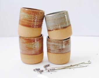 Handmade Ceramic Shino Tumbler