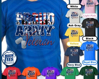 Proud Army Veteran T-Shirt