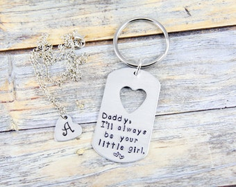 Daddy Daughter Gift - Fathers Day Gift - Father Daughter Gift - Dad Gift - Gift for Him - Gift for Dad - Daddy Gift - Custom Hand Stamped