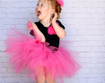 Black Tutu Skirt Baby Toddler
