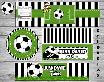 New!!!BOY!!Printable Party Set!!! Soccer - Footballll!!