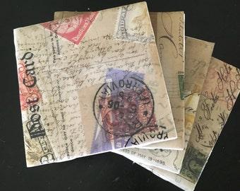"Tile Coasters ""Postcard"""