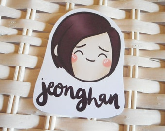 Jeonghan Seventeen Fanart - Sticker Kpop