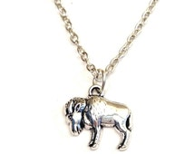 Buffalo Necklace, Buffalo Charm, Buffalo Pendant, Buffalo Jewelry, Buffalo Girls, Buffalo Head, Bison Necklace, Bison Jewelry, Farm Animals