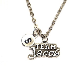 Twilight Necklace, Twilight Charm, Twilight Pendant, Twilight Jewelry, Twilight Saga, Twilight Saga Jewelry, Twilight Werewolf, Team Jacob