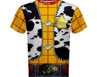Men's Woody Toy Story Inspired Shirt