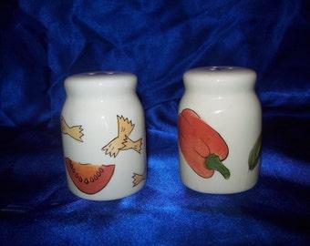 1960's Salt and Pepper Pots