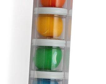 Play Doh Set - Rainbow - play dough - Gift Tower