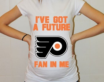 Philadelphia Flyers Baby Philadelphia Flyers Baby Boy Baby Girl Maternity Shirt Maternity Clothing Pregnancy New Baby Shower