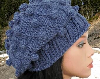 Crochet beanie pattern Crochet beanie Hat tutorial Easy crochet Beanie tutorial Slouchy hat patterns Crocheted women hat Crochet hat beanie