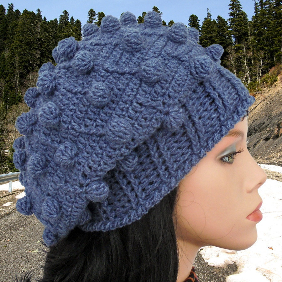 Crochet Pattern Hat Beanie : Crochet beanie pattern Crochet beanie Hat tutorial Easy