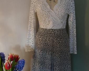 70's jersey skirt