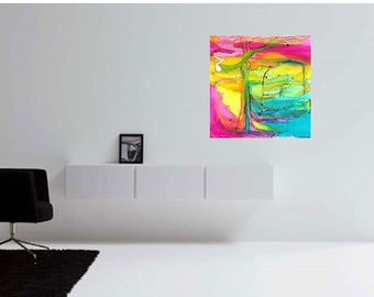 Large Abstract Painting, Living Room Abstract Art, Master Bedroom Abstract  Painting, PAINTINGS ABSTRACT