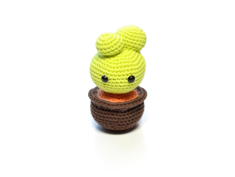 Amigurumi Cactus Tejido A Crochet Regalo Original : Amigurumi cactus tejido a crochet regalo original kalulu for