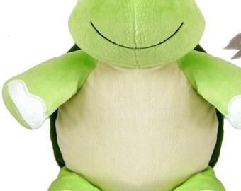 Turtle Stuffed Animal - Embroidered