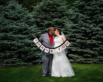 Thank You Sign - Wedding Banner