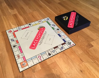 Custom Built Monopoly Board Game