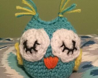 Crochet Owl Plushie