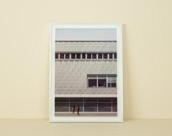 Art giclée print, A2 poster, signed. Modernism - Centrum Warenhaus Illustration.