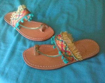 "Handmade Sandals ""ARIADNE"""
