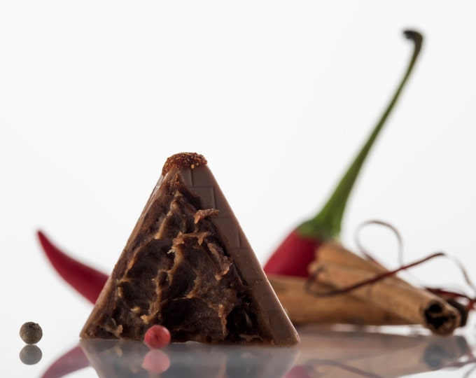 Mexican Kick, Hot Chocolate, Spicy Chocolate, Truffle, Kosher, Gourmet Food