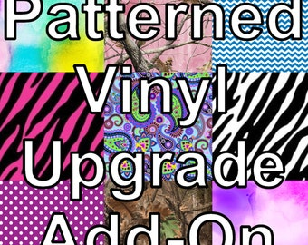 Pattern Vinyl Upgrade - Add On