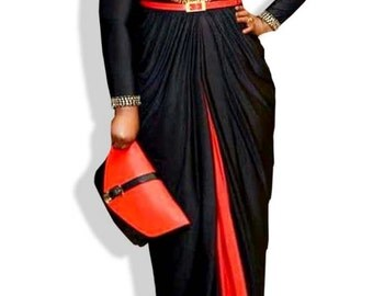 Vibrant Abaya