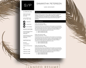 unique resume etsy